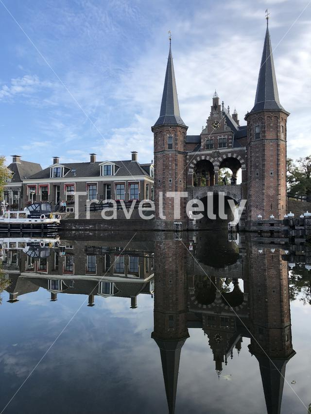 Waterpoort in Sneek, Friesland The Netherlands