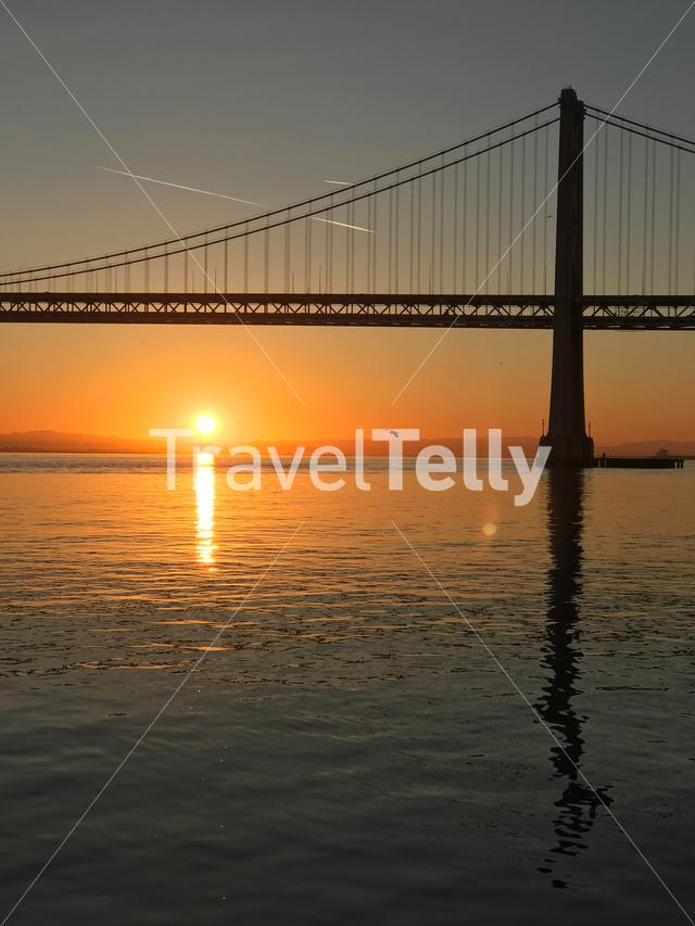 California Sunrise at San Francisco Bay Bridge. Eyespiration Photo Walk