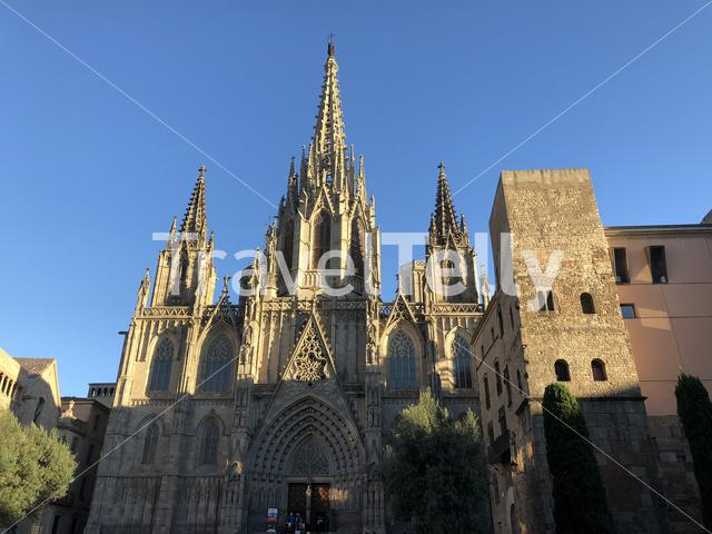 Cathedral of Barcelona in Spain