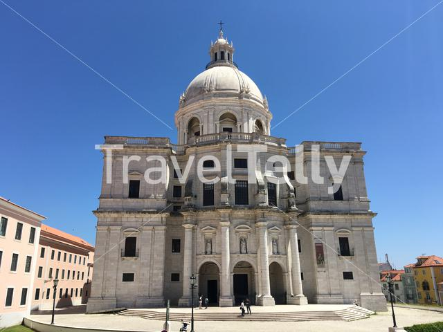 National Pantheon in Lisbon Portugal