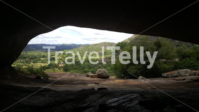 Cave at Matobo National Park in Zimbabwe