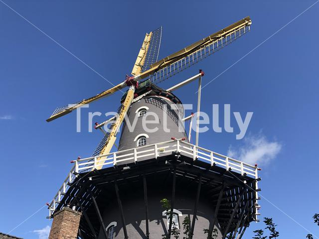 Windmill in Arnhem, The Netherlands
