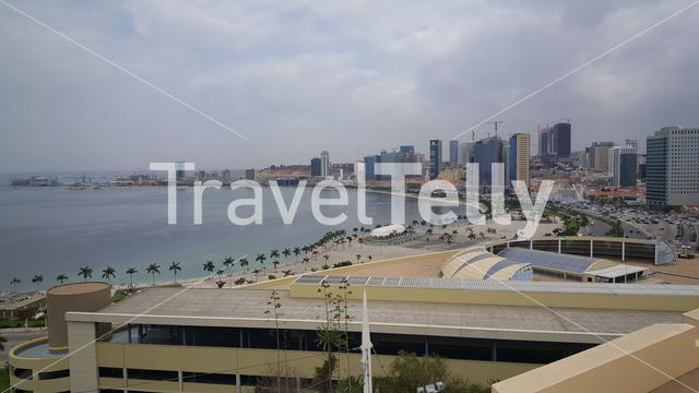 View from the Fortress of São Miguel in Luanda, Angola