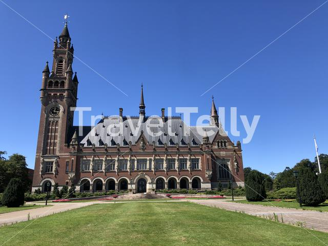 The Peace Palace an international law administrative building in The Hague, the Netherlands