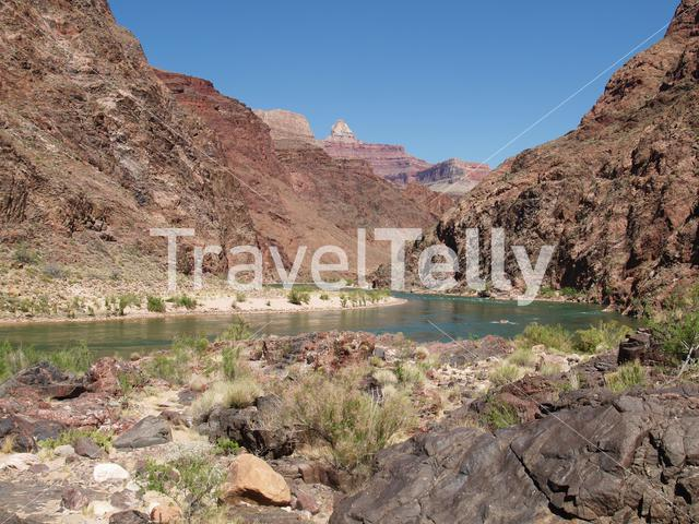 River in Grand Canyon National Park