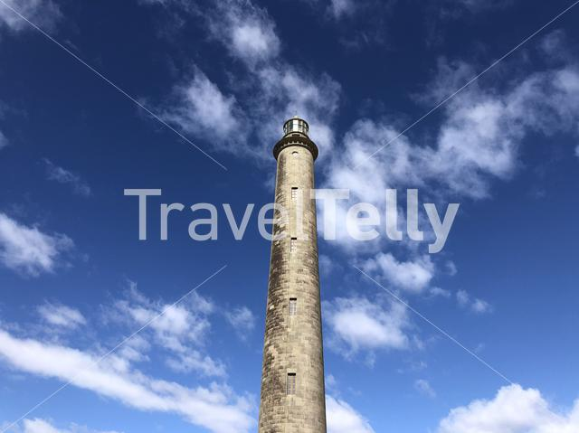 The lighthouse of Maspalomas on Gran Canaria