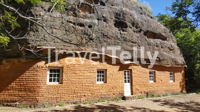 Masitise Cave House history museum in Masitise, Lesotho