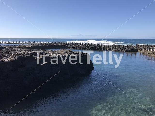 Natural Pool in Agaete Gran Canaria Canary Islands Spain
