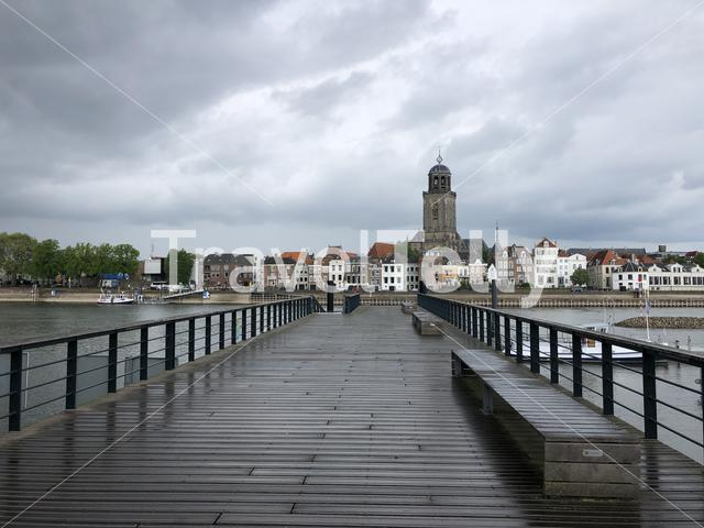 Deventer on a cloudy day
