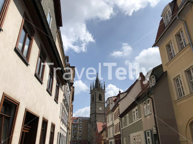 Johannesturm in Erfurt Germany