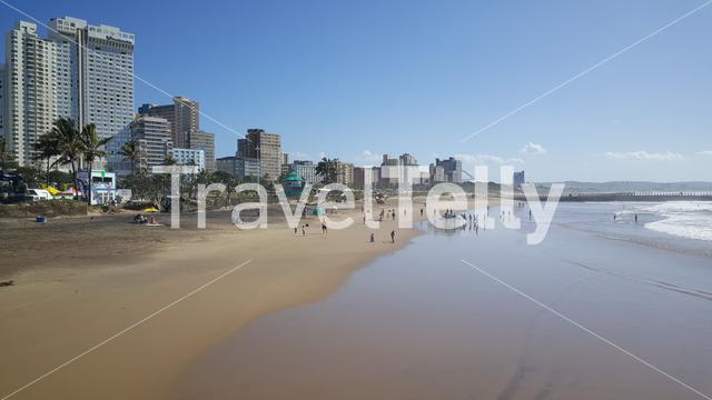 Durban beach in South Africa