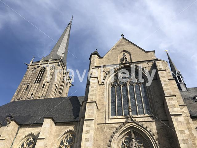The Willibrordi cathedral in Wesel, Germany