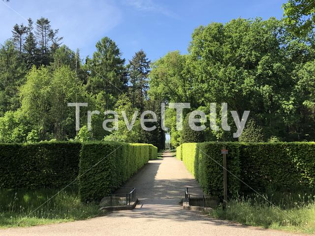 Garden around Huis Bergh castle in 's-Heerenberg, The Netherlands