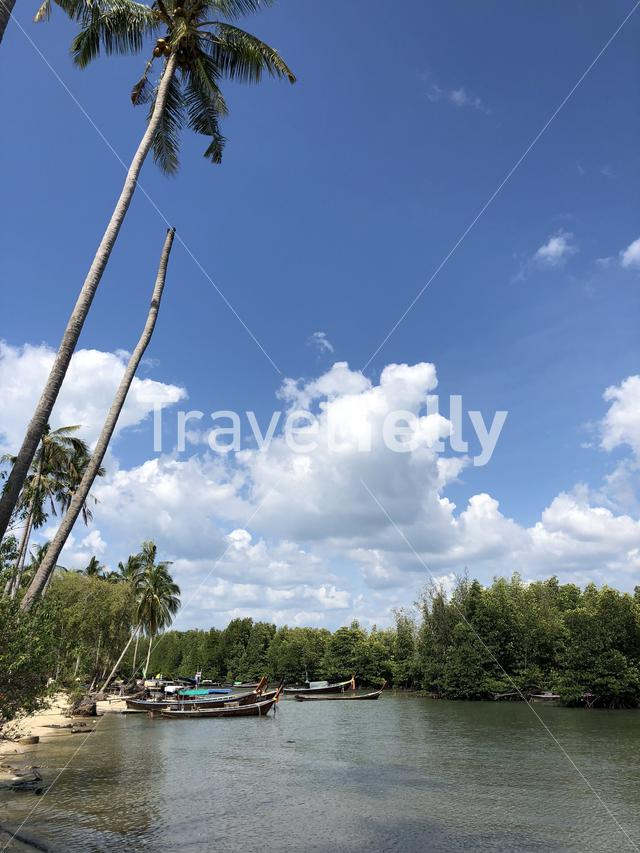A bay on Koh Mook island in Thailand