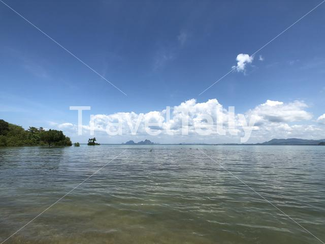 Scenery on Koh Mook Island in Thailand