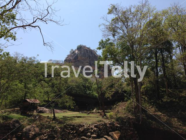 Sigiriya Lion Rock an ancient rock fortress in Sri Lanka