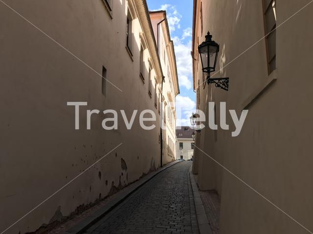 Street in the old town Prague Czech Republic