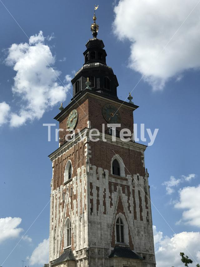 The Town Hall Tower in Krakow Poland