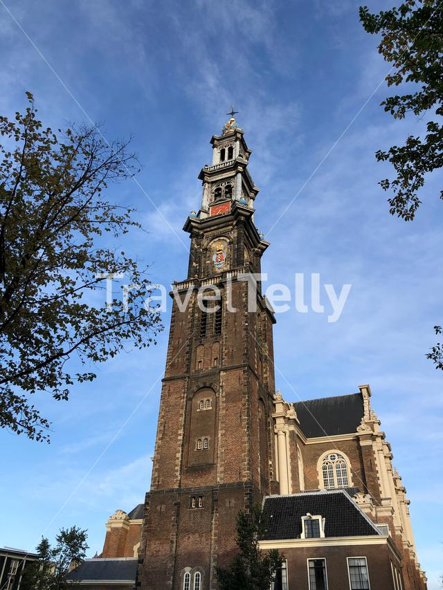 Westertoren in Amsterdam, The Netherlands