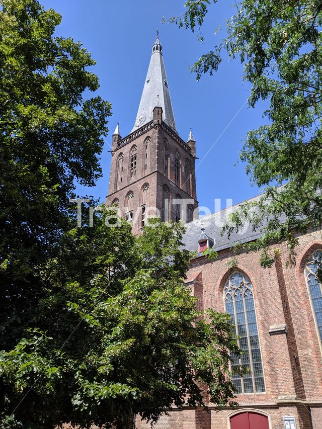 Grote of St. Clement church in Steenwijk, The Netherlands