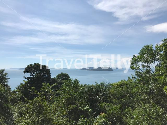 Landscape from small island around Koh Chang