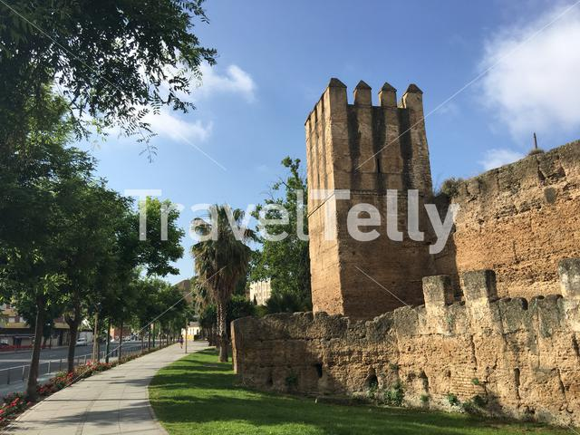 The Walls of Seville Spain