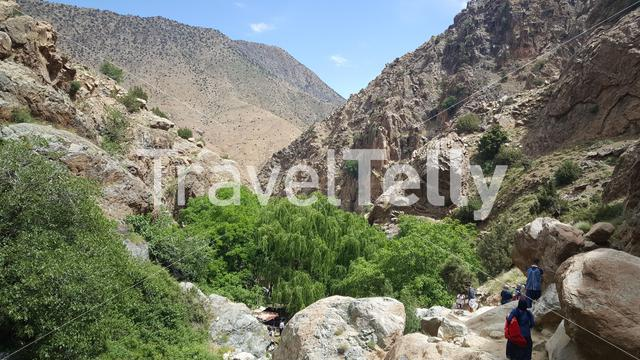 Scenery around Ourika, Morocco