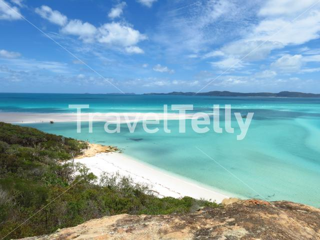 Hill Inlet Lookout Whitsunday Island Queensland Australia