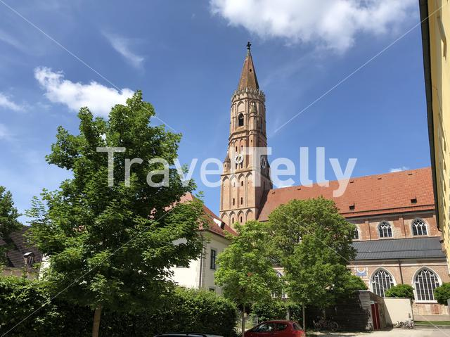 St. Jodok church in Landshut Germany