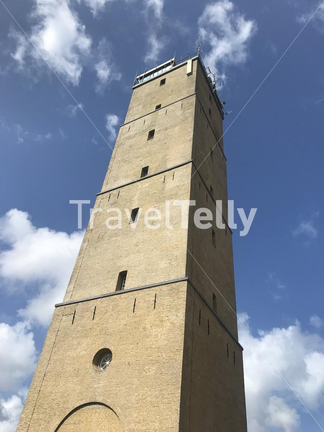 Lighthouse Brandaris on Terschelling island in The Netherlands