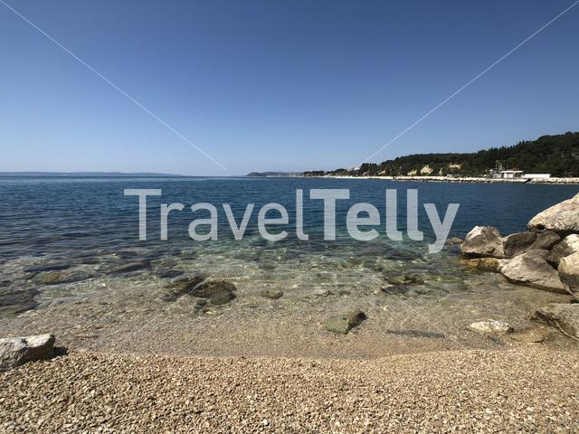 Trstenik Znjan beach in Split Croatia