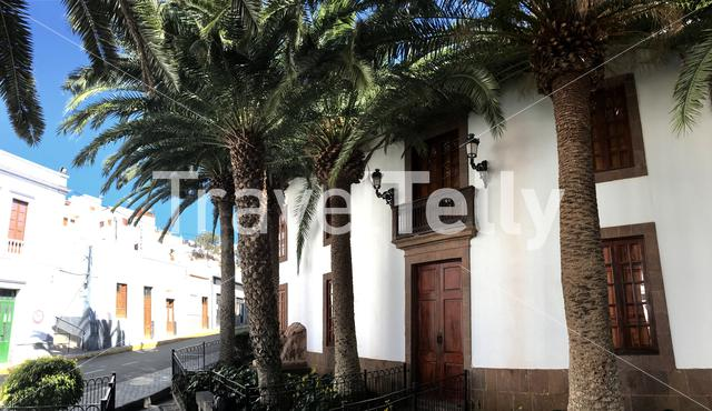 The Armas family mansion in Agaete Gran Canaria Canary Islands Spain