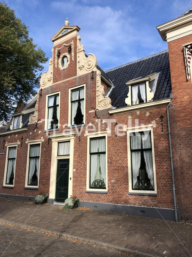 Architecture in the old town of Groningen, The Netherlands
