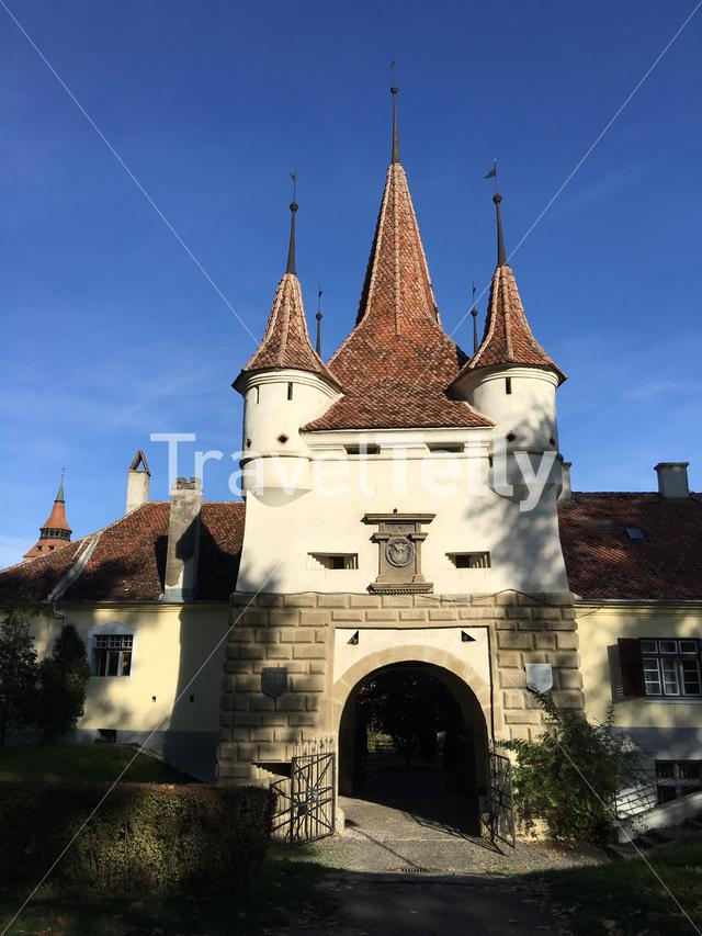 Catherine's Gate in Brasov, Romania