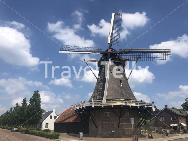 Windmill in Dalfsen, The Netherlands