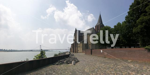 Panorama from the St.Martini Emmerich church in Emmerich Germany