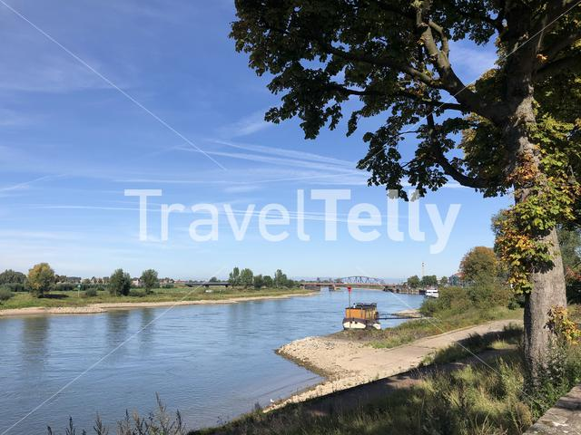 IJssel river around Zutphen, Gelderland The Netherlands