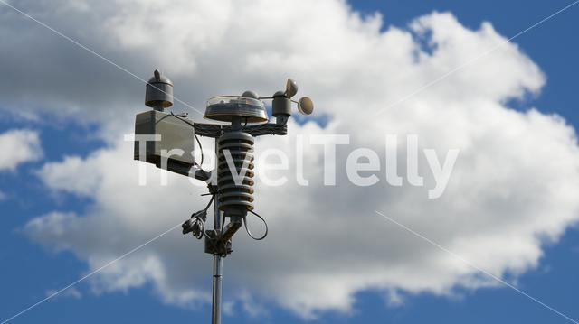 Weather station in New Zealand