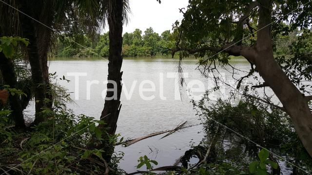 The Gambia river landscape