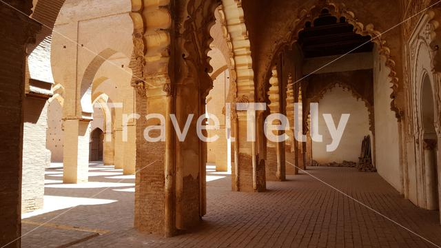 Inside the Tin Mal Mosque in Tinmel Morocco, Africa