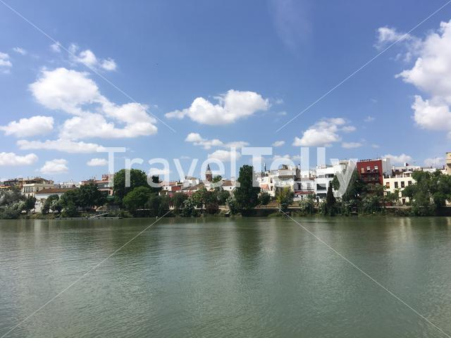 The Canal de Alfonso XIII in Seville Spain