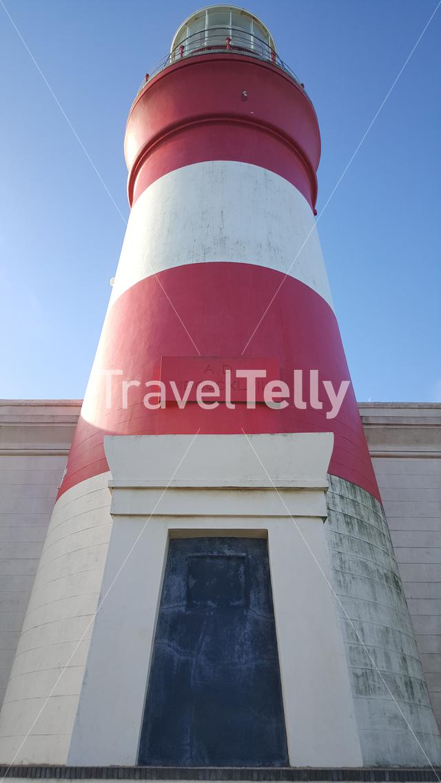Close up from the Lighthouse of Cape Agulhas in South Africa
