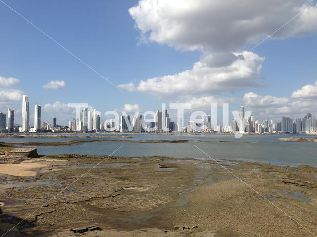 Panama City Skyline from old town