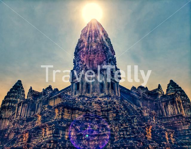 The power of sunshine made everything look incredible Siem Reap Cambodia