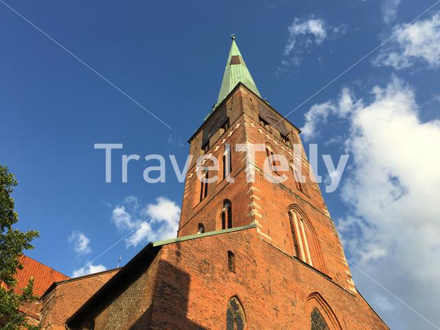 St. Jacobi church in Lübeck Germany