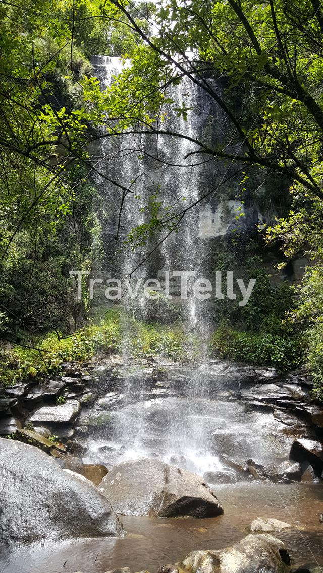 Waterfall around Natal Drakensberg National Park in South Africa in South Africa