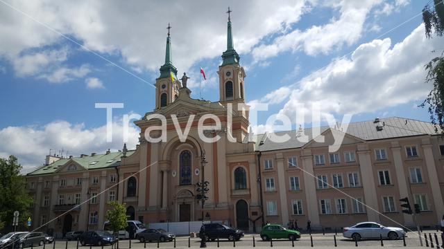 The Field Cathedral of the Polish Army is the main garrison church of Warsaw and the representative cathedral of the entire Polish Army