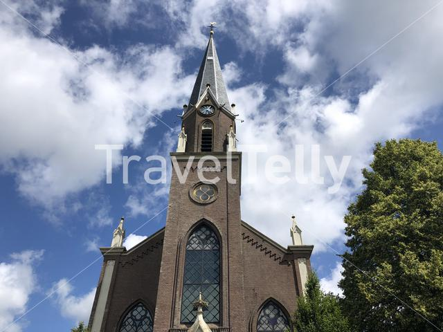 Church in Wergea, Friesland The Netherlands