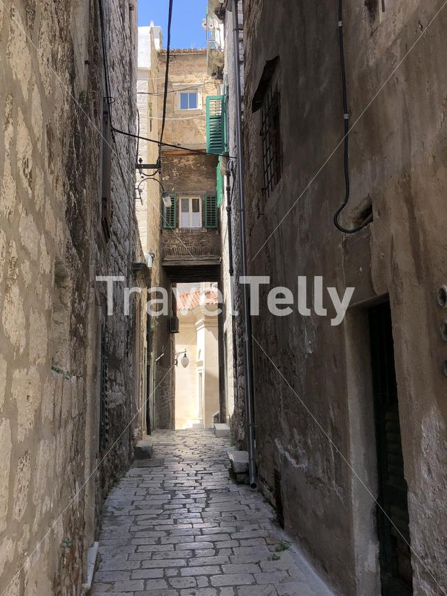 Old town of Sibenik, Croatia