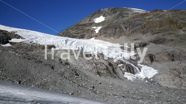 Glacier at Jotunheimen National Park Norway